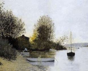 Fishermen on the Banks of the Loire — Максим Мофра