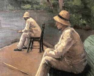 Fishermen on the Banks of the Yerres — Гюстав Кайботт