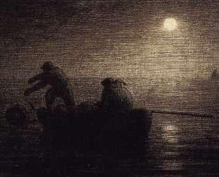 Рыбаки — Жан-Франсуа Милле
