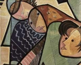 Fisherwoman, tapestry — Хосе де Альмада Негрейрос