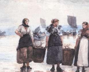 Fisherwomen, Cullercoats — Уинслоу Хомер