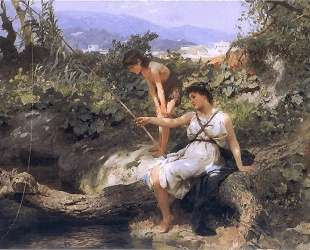 Fishing. A Scene from the Roman Life — Генрих Семирадский