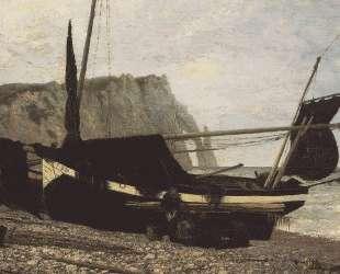 Рыбацкая лодка. Этрета. Нормандия — Василий Поленов