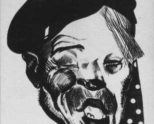 Кулак. Рисунок для журнала «Безбожник у станка» — Александр Дейнека