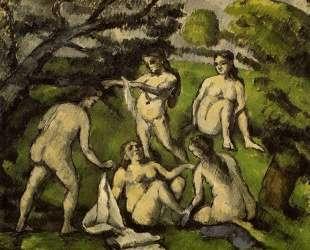 Five Bathers — Поль Сезанн
