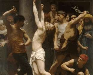 Flagellation of Our Lord Jesus Christ — Вильям Адольф Бугро