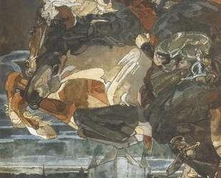 Flight of Faust and Mephisto — Михаил Врубель