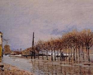 Flood at Port Marly — Альфред Сислей