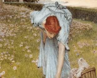 Флора: Весна в садах Виллы Боргезе — Лоуренс Альма-Тадема
