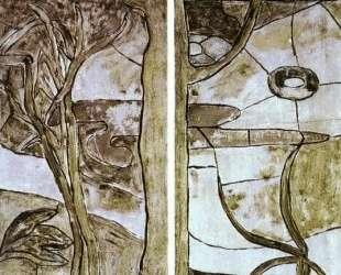 Цветочные и растительные мотивы — Поль Гоген