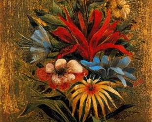 Floral bouquet with birds — Ремедиос Варо