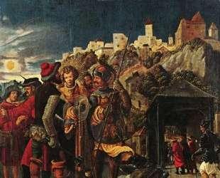 Пленение св. Флориана, сцены из жития св. Флориана, — Альбрехт Альтдорфер