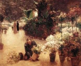 Flower Mart — Теодор Клемент Стил