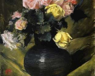 Flowers (aka Roses) — Уильям Меррит Чейз
