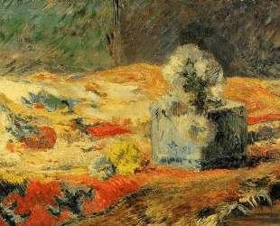 Цветы и ковер — Поль Гоген