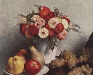 Flowers and Fruit — Анри Фантен-Латур