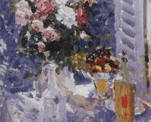 Цветы и фрукты — Константин Коровин