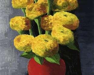Цветы и раковины — Моис Кислинг