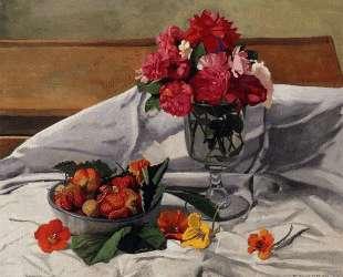 Flowers and Strawberries — Феликс Валлотон