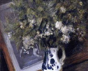 Flowers in a Delft Jug — Джулиан Олден Вейр