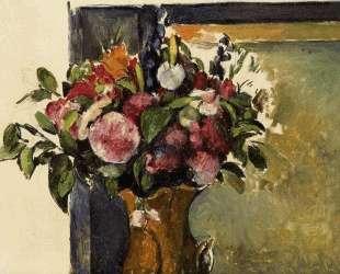 Flowers in a Vase — Поль Сезанн