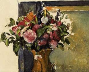 Цветы в вазе — Клод Моне