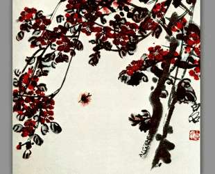 Flowers meyhua — Ци Байши