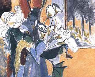 Flowers on the windowsill — Анри Матисс