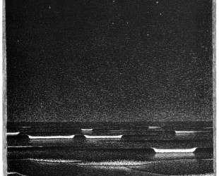 Fluorescent Sea — Мауриц Корнелис Эшер