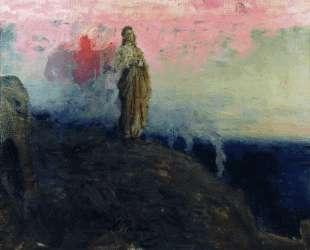 Иди за мной, Сатано (Искушение Христа) — Илья Репин