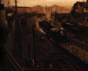 Вид на окрестности станции Леопольда — Поль Дельво