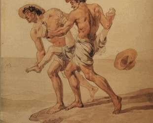 Насильное купание — Карл Брюллов