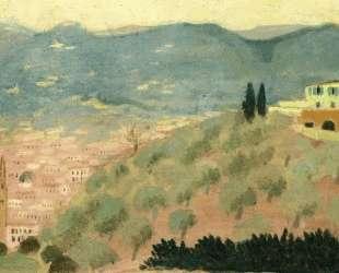 Forentice Landscape, Viale dei Colli — Морис Дени