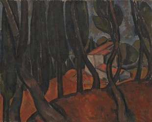 Forest at Martigues — Андре Дерен