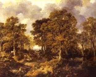 Forest (Cornard Wood) — Томас Гейнсборо