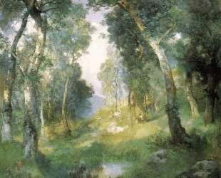 Forest Glade, Santa Barbara — Юлиус Леблан Стюарт