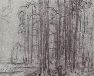 Лесной пейзаж — Архип Куинджи