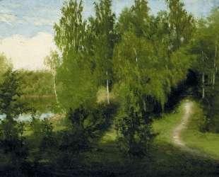 Лесная тропинка — Иван Крамской