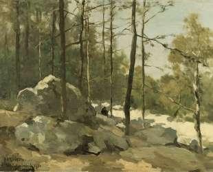 Forest View near Barbizon — Иохан Хендрик Вейсенбрух