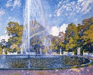 Fountain at San Souci — Тео ван Рейссельберге