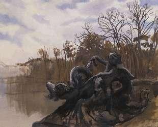 Фонтан в Версальском парке — Зинаида Серебрякова