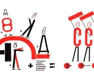 Четыре (арифметических) действия — Эль Лисицкий