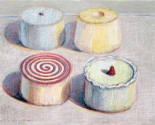 Four Cakes — Уэйн Тибо