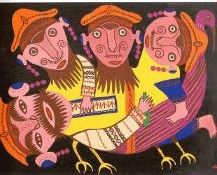 Four Drunkards Riding a Bird — Мария Примаченко