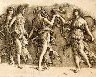 Four Muses — Андреа Мантенья