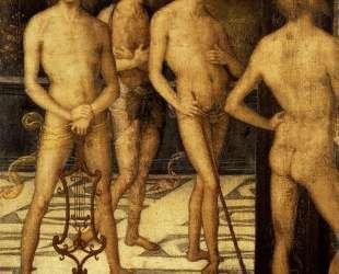 Четверо обнаженных — Пьетро Перуджино