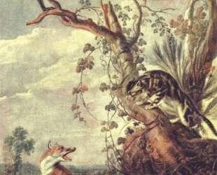 Fox and cat — Франс Снейдерс