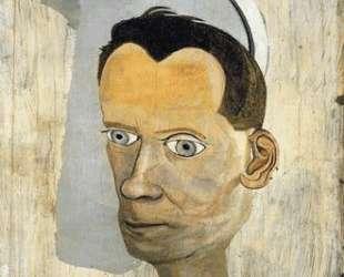 Фрагмент головы Джеральда Уайльда — Люсьен Фрейд