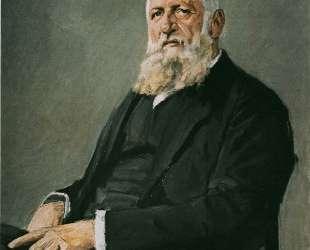 Franz Adickes — Макс Либерман