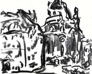 Frauenkirche — Эрнст Людвиг Кирхнер